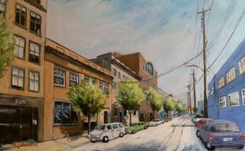 Railtown, Vancouver 30 x 48 acrylic on canvas - sold
