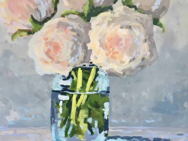 """<span class=""""entry-title-primary"""">The Mason Jar</span> <span class=""""entry-subtitle"""">24 x 24, acrylic on canvas</span>"""