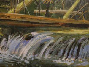 After the Rain 11 x 14, acrylic on canvas
