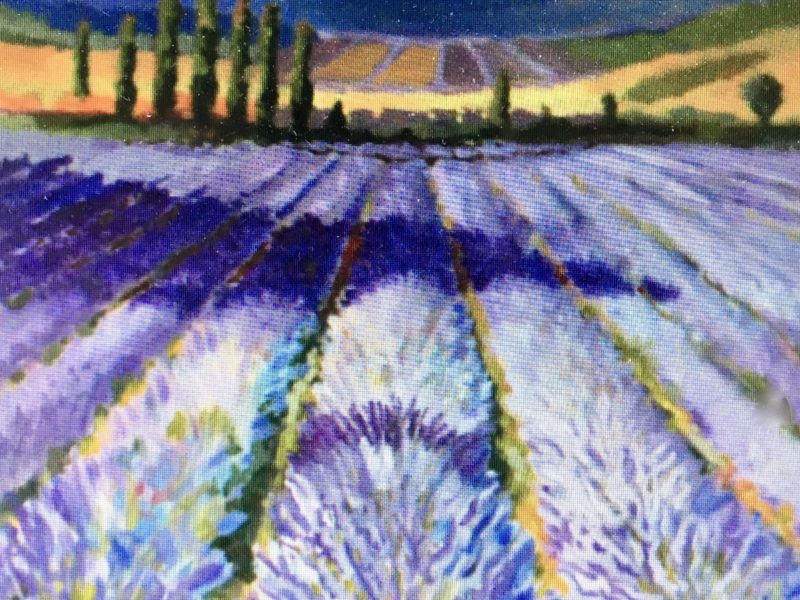 """<span class=""""entry-title-primary"""">Lavender Fields Forever</span> <span class=""""entry-subtitle"""">36 x 36, acrylic on canvas</span>"""