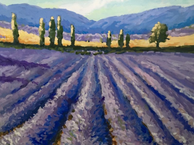 "<span class=""entry-title-primary"">French Lavender</span> <span class=""entry-subtitle"">30 x 30, acrylic on canvas</span>"