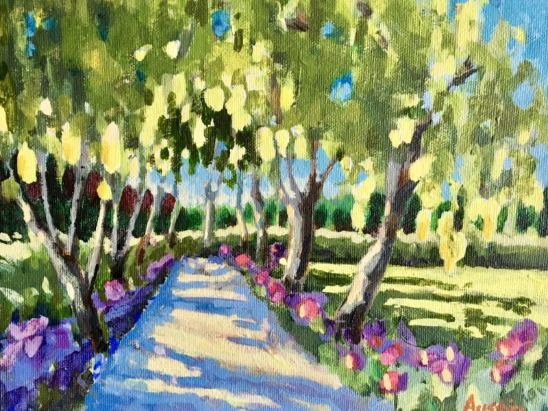 "<span class=""entry-title-primary"">Laburnum Walk</span> <span class=""entry-subtitle"">8 x 10, acrylic on  canvas</span>"