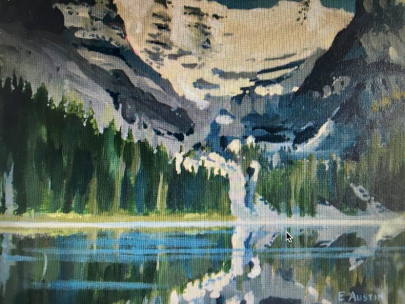 "<span class=""entry-title-primary"">Lake O'Hara</span> <span class=""entry-subtitle"">11 x 14, acrylic on canvas</span>"