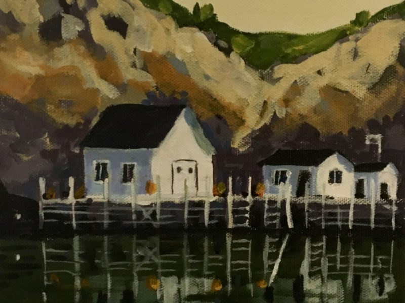 "<span class=""entry-title-primary"">Quidi Vidi Two</span> <span class=""entry-subtitle"">8 x 8, acrylic on canvas</span>"