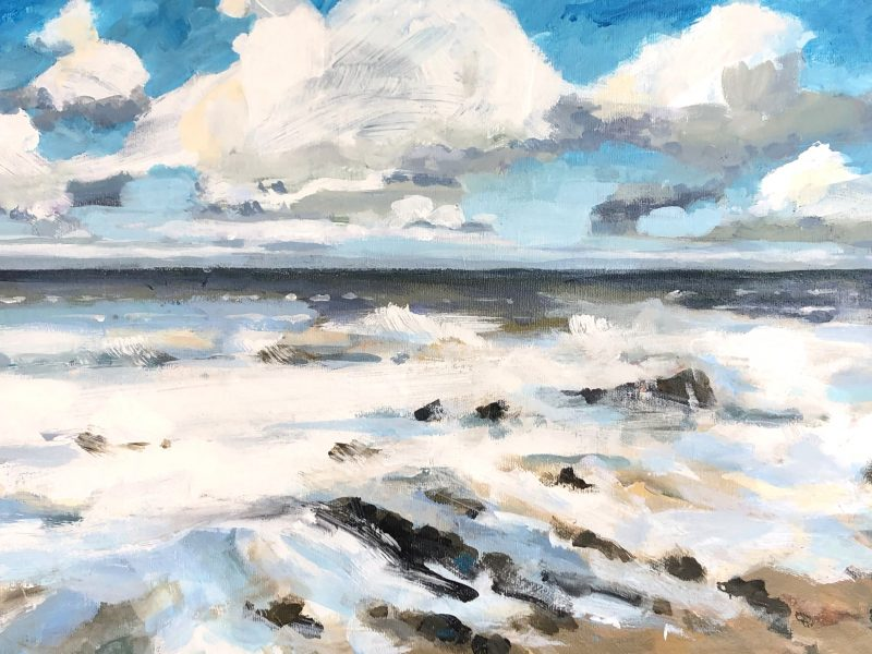"""<span class=""""entry-title-primary"""">Turbulent Waters</span> <span class=""""entry-subtitle"""">12 x 24, acrylic on canvas</span>"""