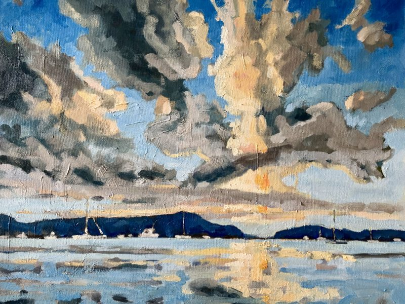 """<span class=""""entry-title-primary"""">Silva Bay</span> <span class=""""entry-subtitle"""">16 x 20, oil on canvas</span>"""