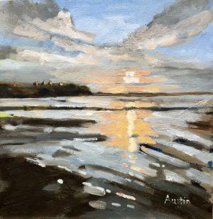 Point Grey Light – Sold 12 x 12 oil on canvas