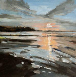 Point Grey Light 12 x 12 oil on canvas