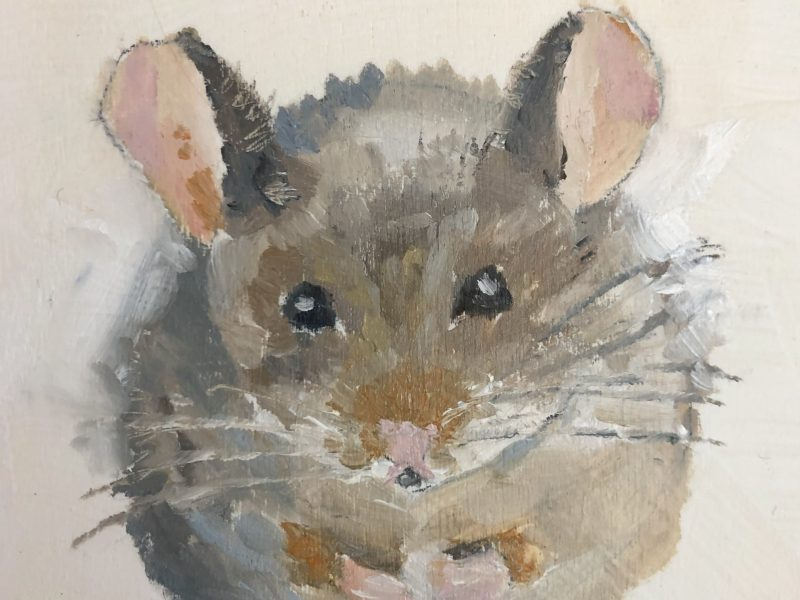"""<span class=""""entry-title-primary"""">Not even a mouse…</span> <span class=""""entry-subtitle"""">4 x 4, oil on panel</span>"""