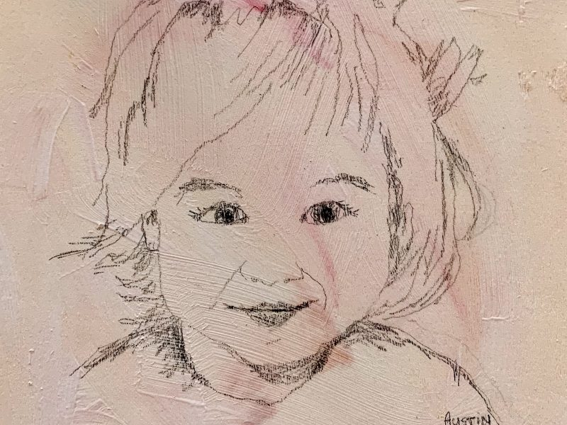 """<span class=""""entry-title-primary"""">Young Lady 6 – SOLD</span> <span class=""""entry-subtitle"""">6 x 6, graphite on board</span>"""