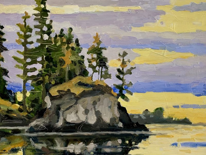 """<span class=""""entry-title-primary"""">Eagle Harbour Colour</span> <span class=""""entry-subtitle"""">10 x 10, oil on birch panel</span>"""