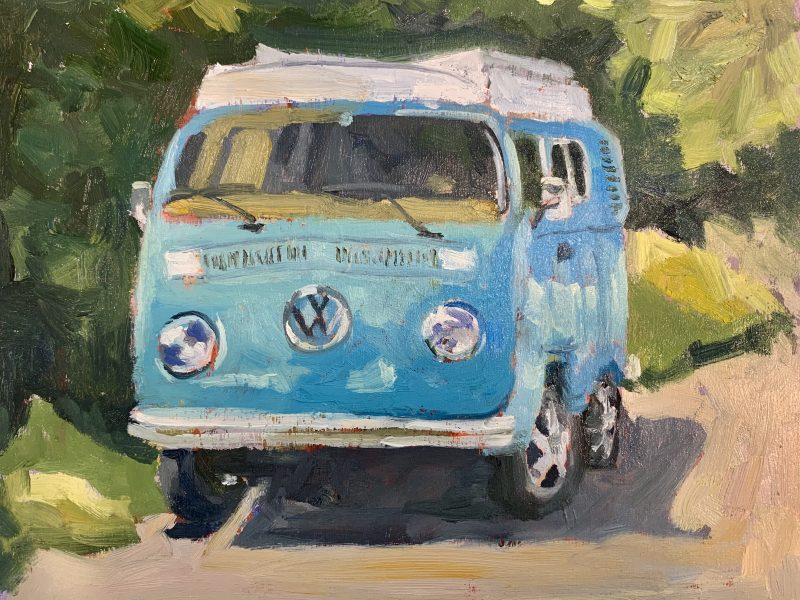 """<span class=""""entry-title-primary"""">VW Classic – SOLD</span> <span class=""""entry-subtitle"""">8 x 10, oil on birch board</span>"""