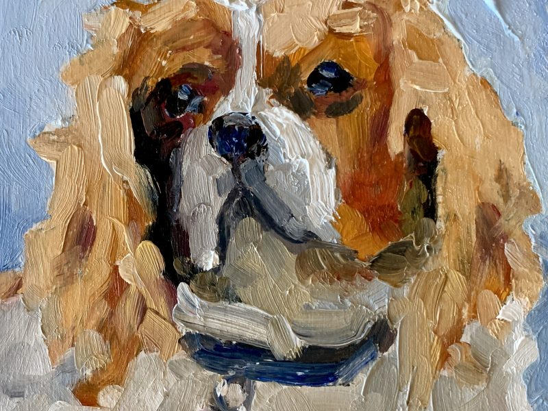 """<span class=""""entry-title-primary"""">Dutchess – SOLD</span> <span class=""""entry-subtitle"""">4 x 4, oil on panel</span>"""